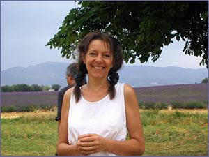 Margrit Müller, owner of La Tisane