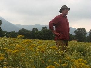 Our friend and mentor, Albrecht von Keyserlingk, Owner of Essences Naturelles Corses - Corsica, France